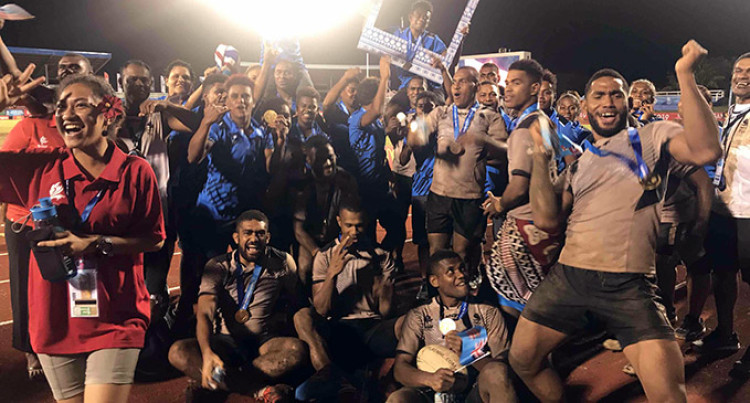 Pacific Games: Fiji Men's Rugby League Team Dominates Papua New Guinea To Win Gold