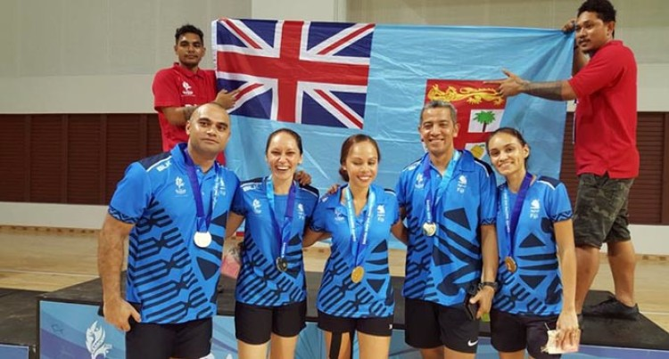 Pacific Games: Team Fiji Wins Gold At Badmington Team Event