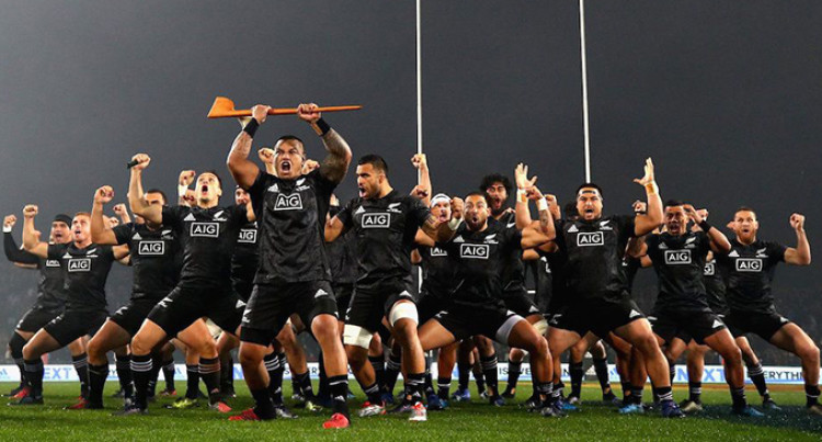 Be Warned, New Zealand Maori All Blacks Out For Blood