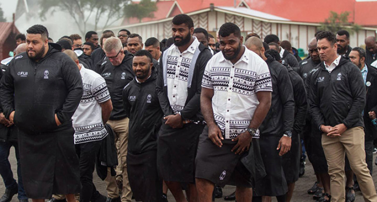Only The Best Will Do, Flying Fijians Arrive In Rotorua