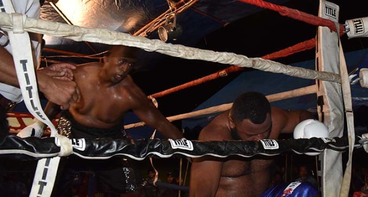 Korolevu 'Beast' Knocks Out Heavyweight Champ Petero Qica