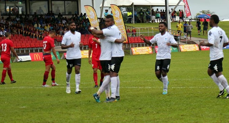 Roy's Goal Sinks Tahiti, Big Win For Our Women Footballers At Pacific Games