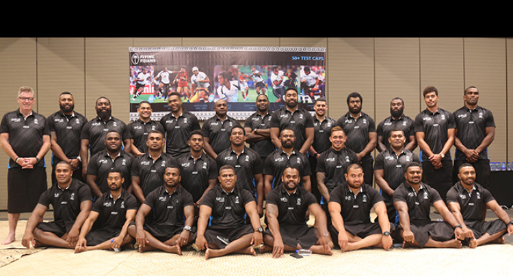 Flying Fijians Checked In And Ready For Duty