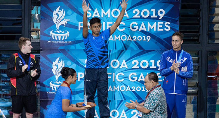 Fiji Swimmer Taichi Vakasama Finally Confirmed As New Pacific Games Record Holder