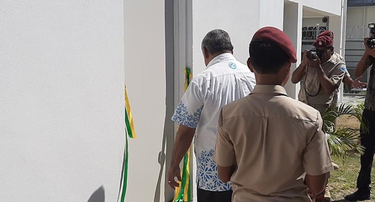 $98,000 Lautoka Remand Centre Visitors' Room Upgrade Will Ensure Security, Safety Says Commisioner