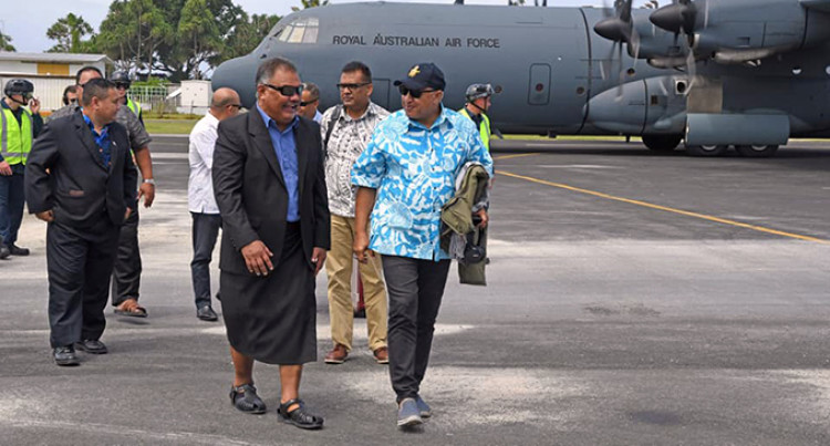 Bainimarama Keeps Promise To His Tuvaluan Counterpart