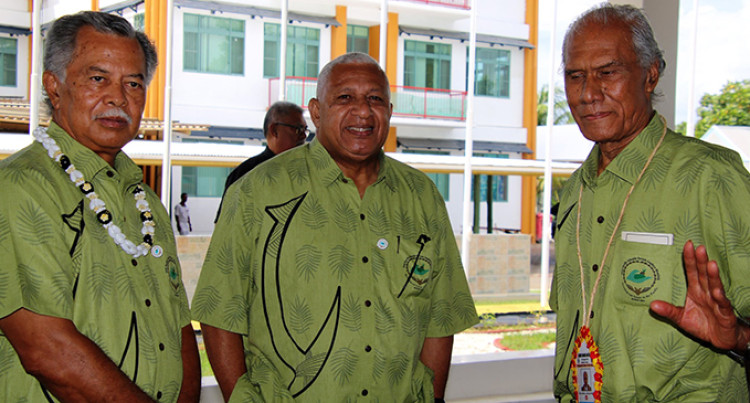 PM Bainimarama In Frontline Of Discussions As Leaders Focus On Regional Issues