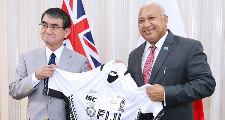 Japanese Foreign Minister Reaffirms Commitment to Fiji and the Pacific