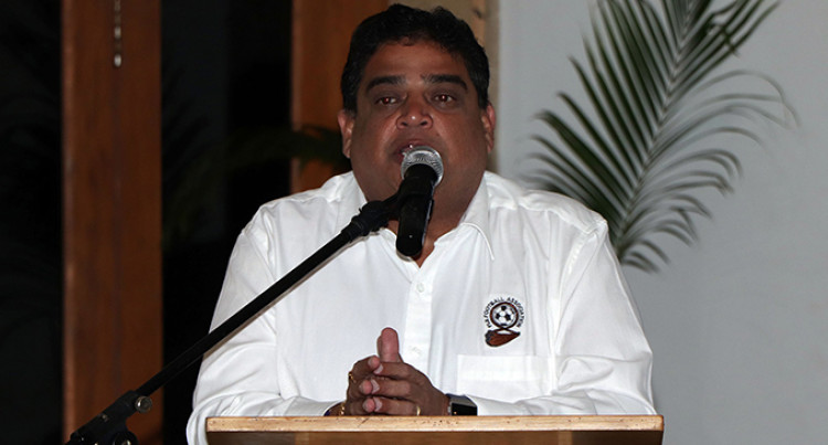 Fiji Football President: No Locals Qualified  After Gamel