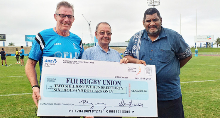$2.5 Million For Flying Fijians Rugby World Cup Campaign