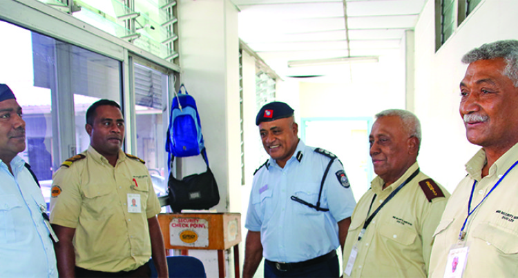 Police, Hospital Guards Team Up