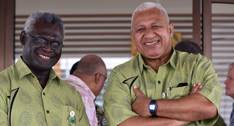 Pacific Islands Forum: PM Bainimarama Takes Climate Change Check To Australia