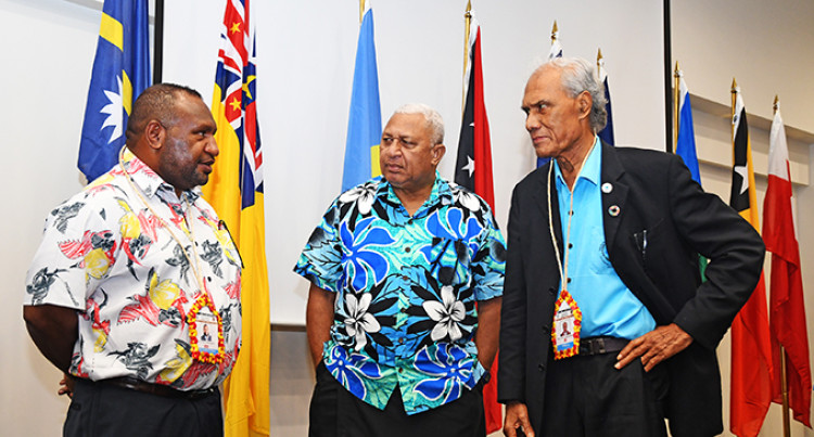 Pacific Island Countries Back Prime Minister Bainimarama's Call To Reduce Global Warming
