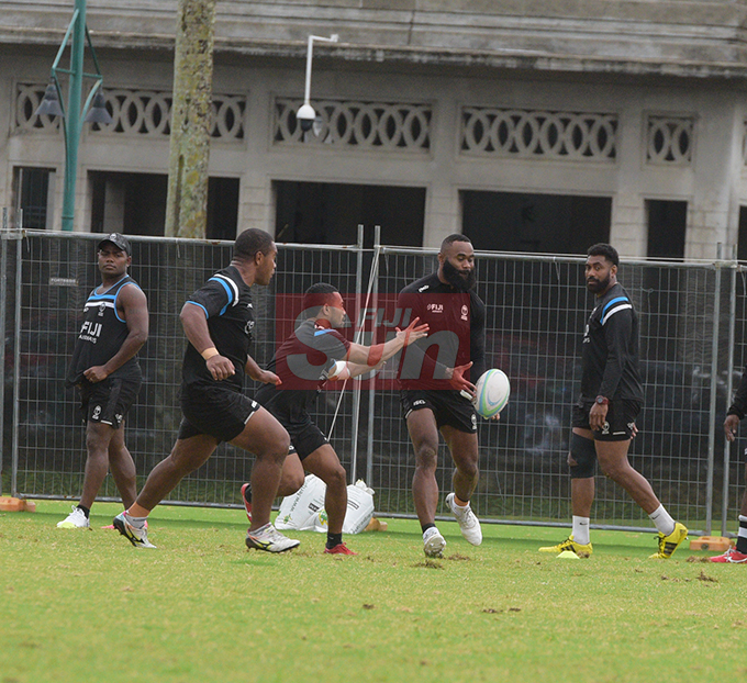 Flying Fijians player Semi Radradra training at Albert park Suva on August 5,2019.Photo:Simione Haravanua.