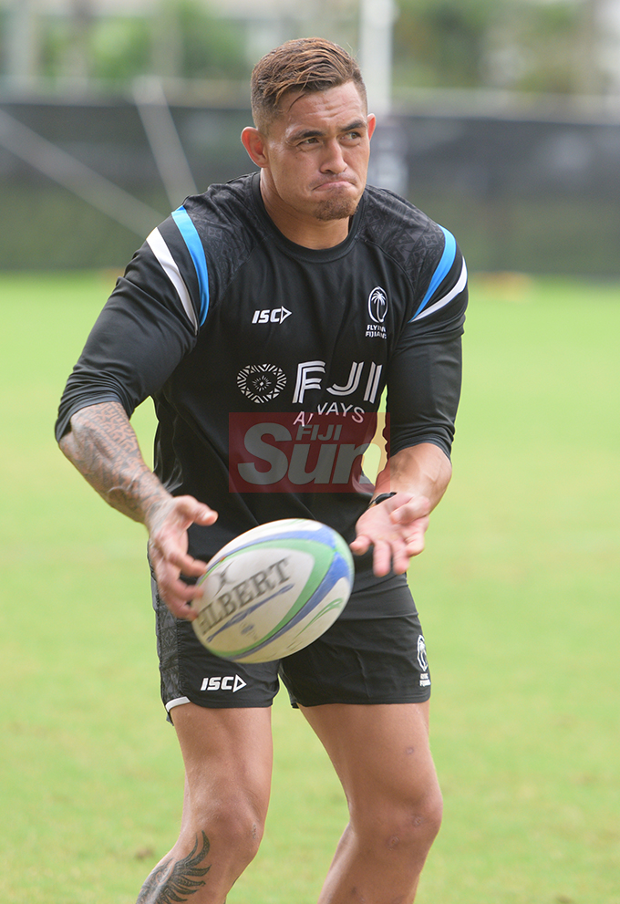 Fiji Airways Flying Fijian rep, Jale Vatubua during training at Albert Park on August 6, 2019. Photo: Ronald Kumar.