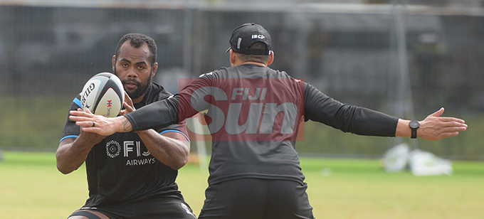 Peceli Yato during Fiji Airways Flying Fijian Captains runs at Albert Park on August 9, 2019. Photo: Ronald Kumar.