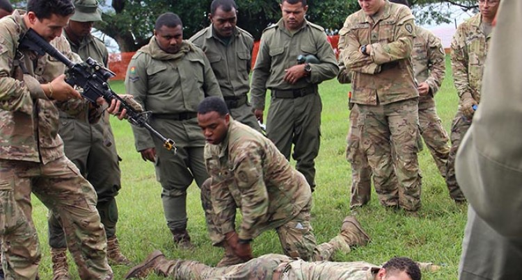 Republic of Fiji Military Forces , US Army On Tactical Training