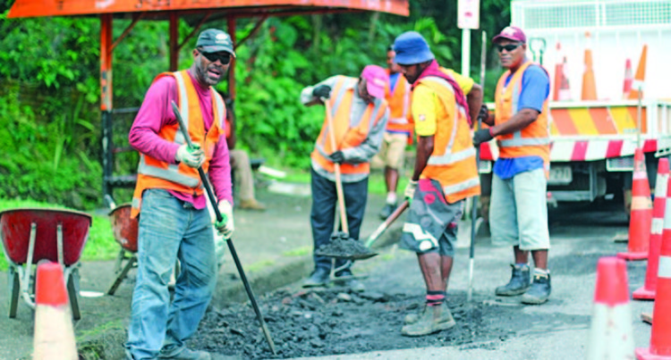 Fiji Roads Authority Working Around the Clock to Prevent Potholes
