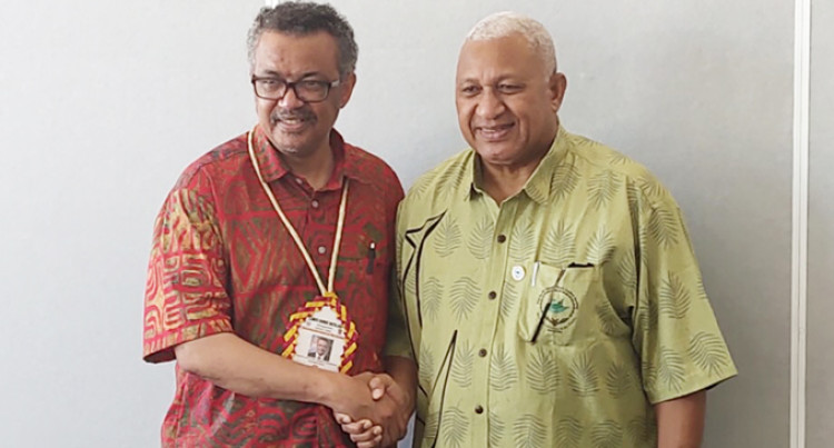 World Health Organisation Commits To Bolster Fiji As Centre For Health Training In Region