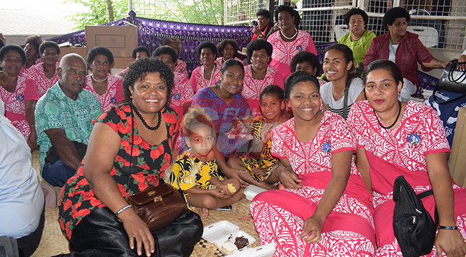 Methodist Church of Fiji and Rotuma members from Wasewase Verata in Tailevu during annual conference at Centenary Church on August 22, 2019. Photo: Ronald Kumar.
