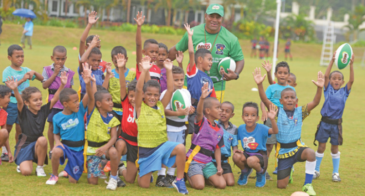 379 Children For Milo Rugby Academy Tag Festival