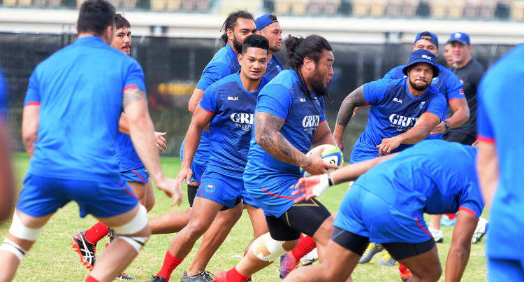 Manu Samoa Training – 9th August, 2019
