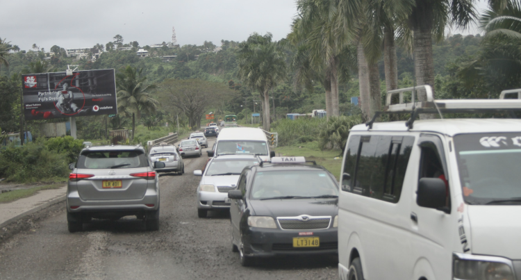 Moore: Weather Hinders Road Work Completion Along Lami. More Delays