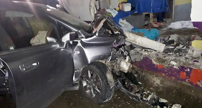 Scene of accident at Tacirua