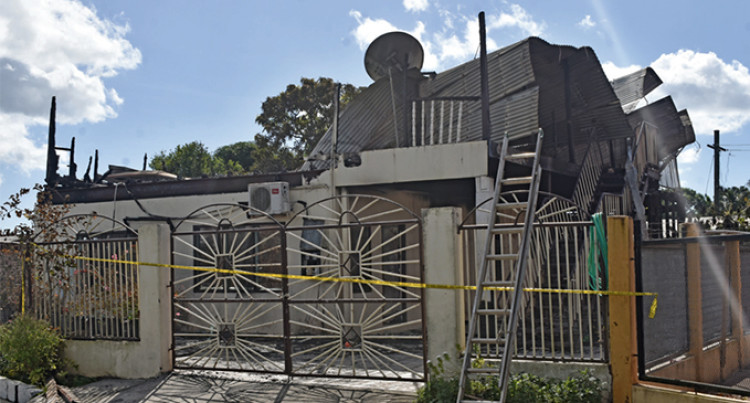 Two Fires Damage Top Floor Of House, Part Of Sugarcane Field In Labasa