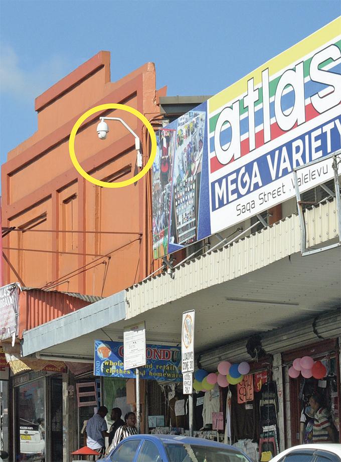The CCTV camera along Waimanu Road near Mark Street junction. Photo: Ronald Kumar