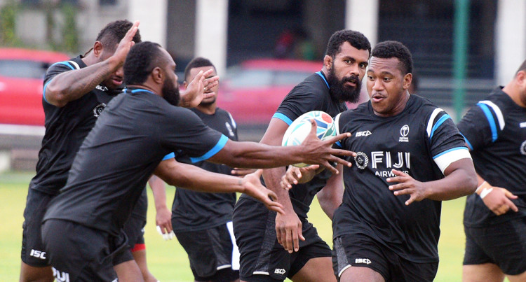 Flying Fijians Rugby World Cup Squad Training At Albert Park