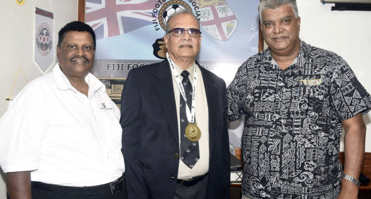 New Coach From Europe Say Fiji Football President  Rajesh Patel