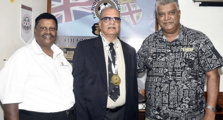 New Coach From Europe Say Fiji Football President  Rajesh Patel