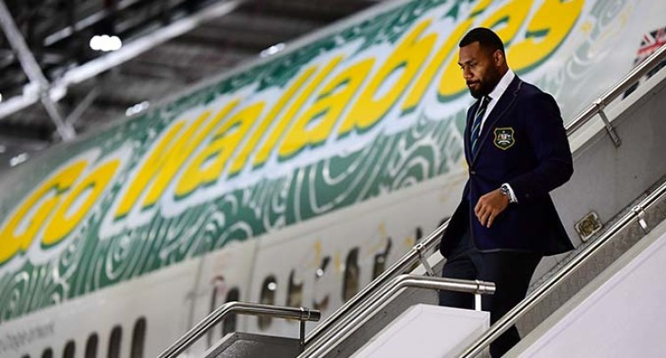 Fijian-Born Samu Kerevi Named Australian Vice-Captain To Rugby World Cup