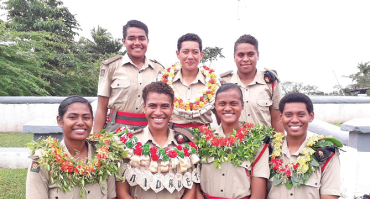 7 More Women Commissioned Officers Prove Nothing Is Impossible