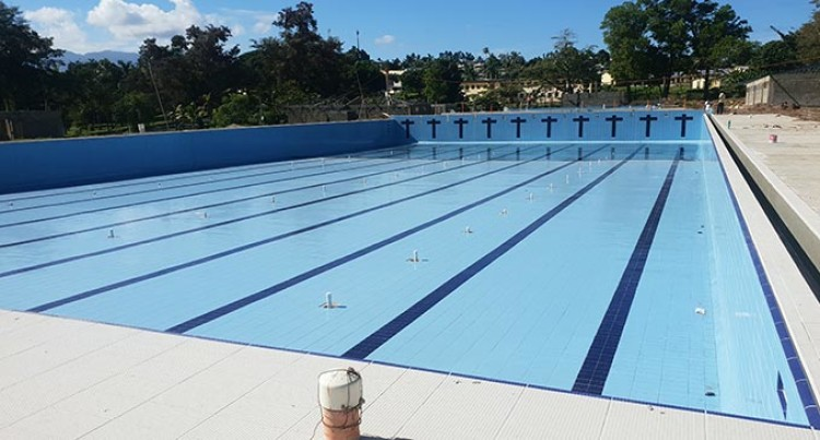 Company Works Around The Clock To Complete Lautoka Aquatic Swimming Pool Project