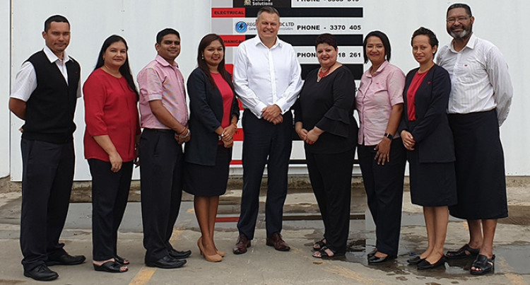 Westpac Fiji Building New Superbranch At Garden City