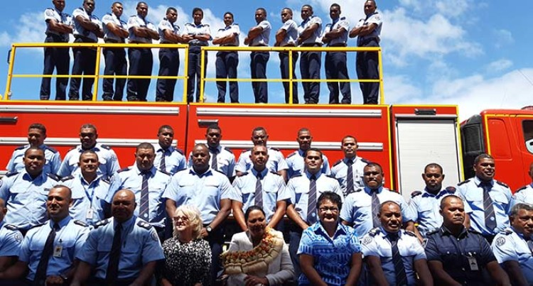 Million-Dollar Addition To National Fire Authority Fleet