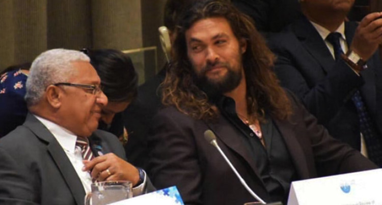 Aquaman Momoa Backs Our PM