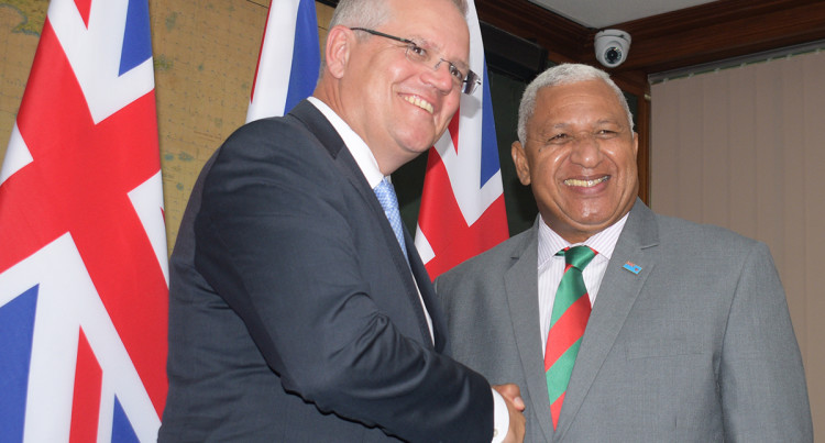PM Bainimarama Expected To Receive Warm Welcome When He Arrives In Canberra Today