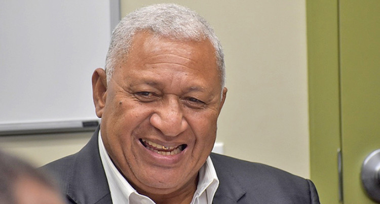 PM Bainimarama Arrives In New York For The UNGA74