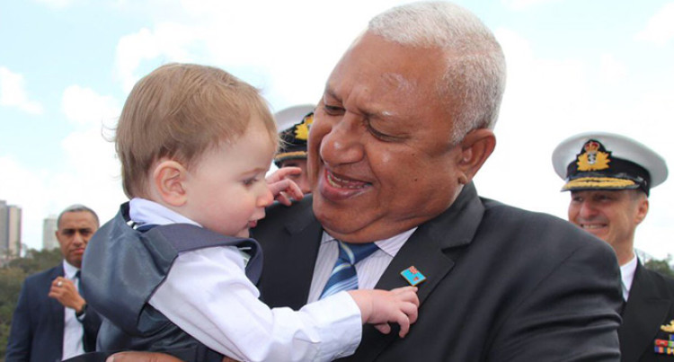 Aussie Family: Fiji Blessed to Have Bainimarama As Prime Minister