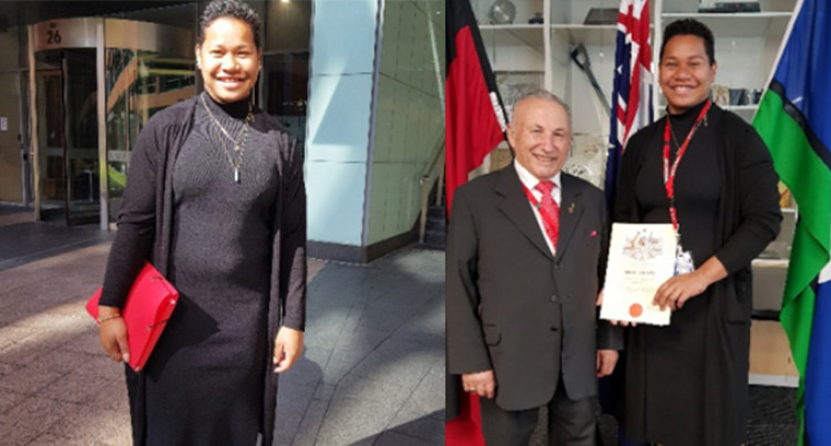 Eileen Cikamatana, Now An Australian Citizen