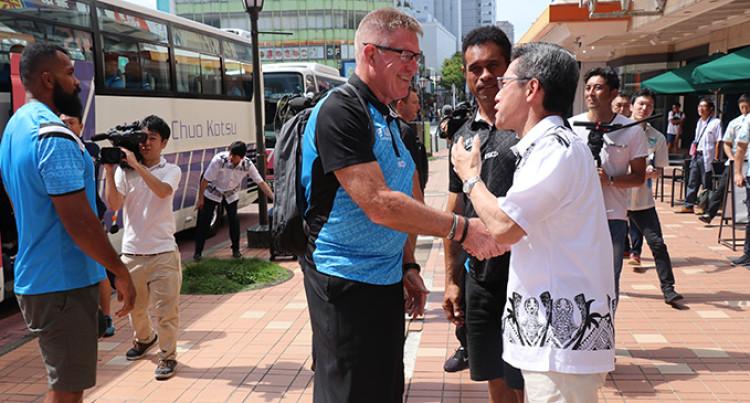 Fiji Airways Flying Fijians: First Photos In Host City, Japan