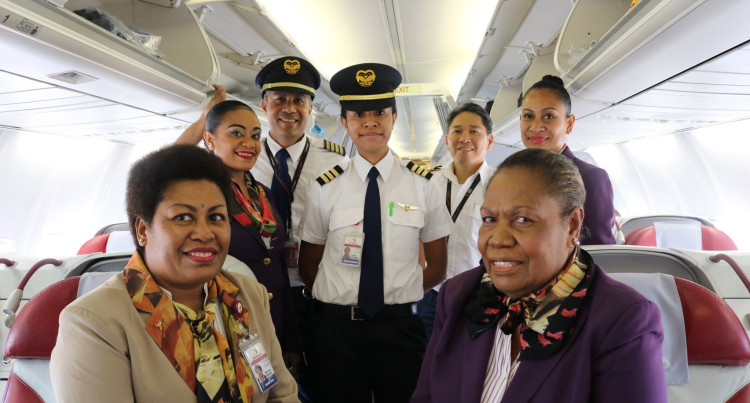Air Niugini Begins B737 Direct POM-Nadi Flight