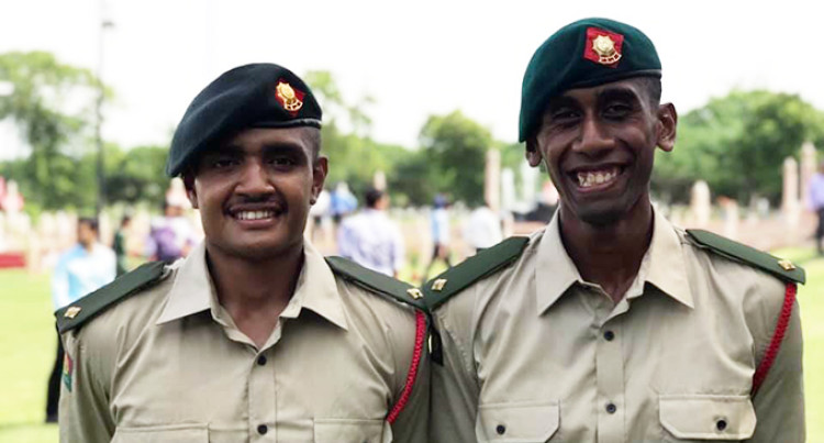 2 Fijians Commissioned As Second-Lieutenants After Indian Training
