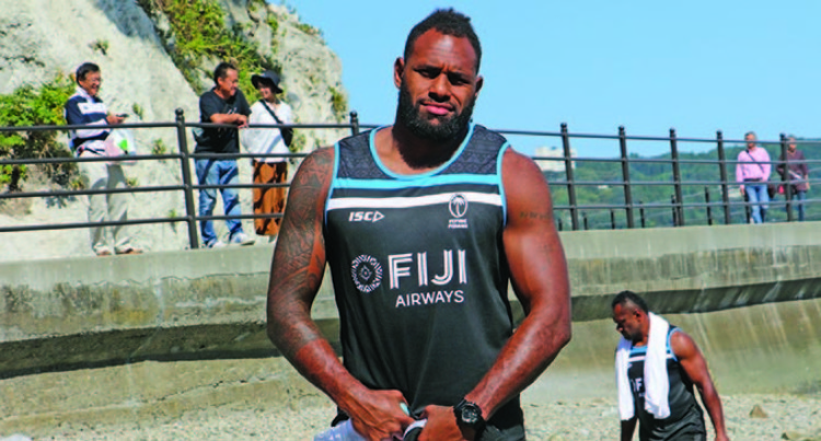 Cop It On The Chin, Get Up, Be A Flying Fijian