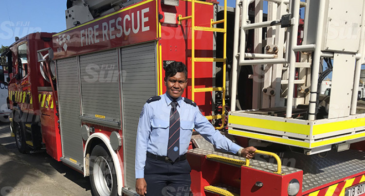Firefighter Is First Female Sub-Officer
