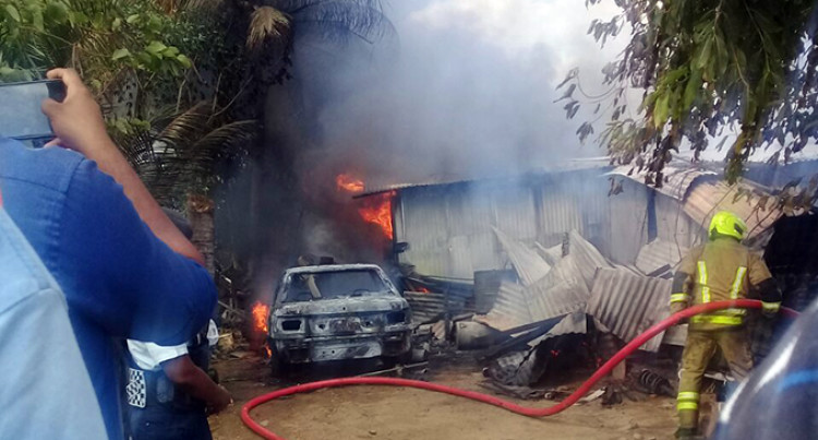 Nadi Couple Devastated, Lose House In Fire