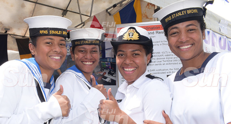Verata, Tailevu Lass Sets Eye On Career In Navy